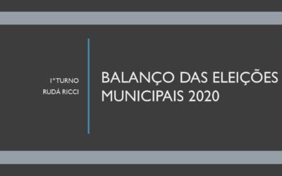 Balanço das eleições municipais de 2020